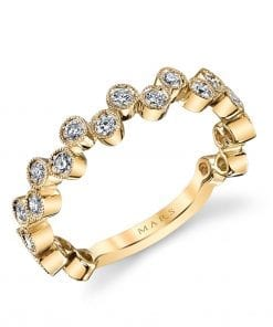 Diamond Ring - Stackable  Style #: MARS-26202YG