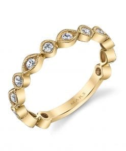 Diamond Ring - Stackable  Style #: MARS-26210YG