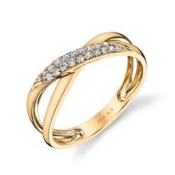 Contemporary Round Diamond RingStyle #: MARS-26585