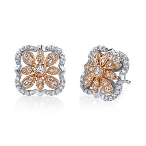 Diamond Earrings - Drops & Dangles Style #: MARS-26861