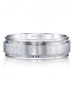 Classic Men's Wedding BandStyle #: MARS G107