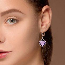 Amethyst EarringsStyle #: AN3316