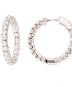 Classic Diamond EarringsStyle #: MARS-15290