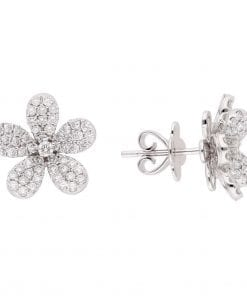 Floral Diamond EarringsStyle #: PD-LQ6330E