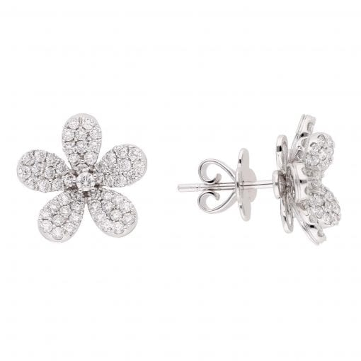 Floral Diamond EarringsStyle #: PD-LQ6330E