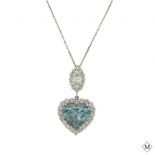 Blue Diamond NecklaceStyle #: MDPND9993