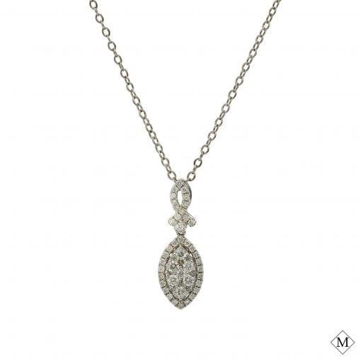 Classic Diamond PendantStyle #: MDPND9998