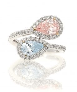 Contemporary Pink Diamond Fashion RingStyle #: MID-MD-FAS-RING-001