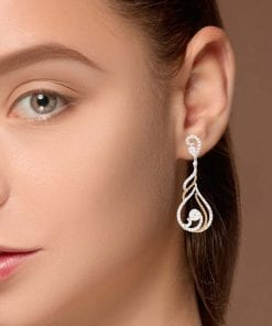 Contemporary Diamond EarringsStyle #: PD-10108451