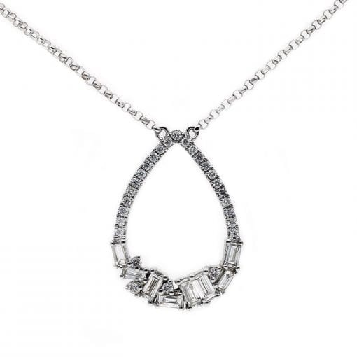 Diamond NecklaceStyle #: PD10121112