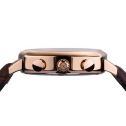 Melbourne CA.42.Q.CHR.01SKU #: MEL-CARLTON STAINLESS ROSE GOLD