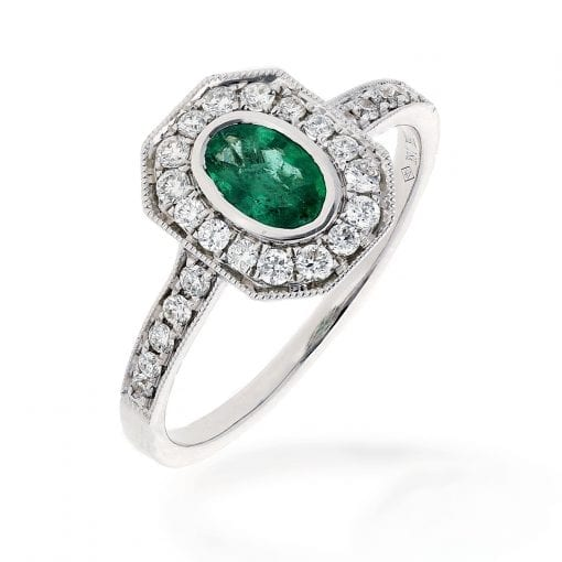 Glamorous  Emerald RingStyle #: PD-10121186