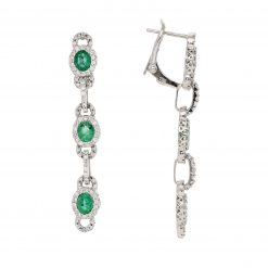 Emerald EarringsStyle #: PD-59632