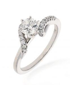 Modern Diamond RingStyle #: MARKS-6686