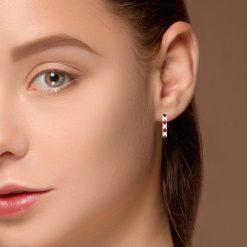 Ruby EarringsStyle #: ANC-JA480B