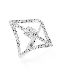 Modern Diamond RingStyle #: PD-JLQ100L