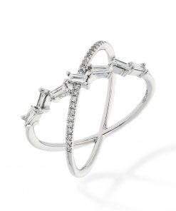 Modern Round Diamond RingStyle #: PD-JLQ202L