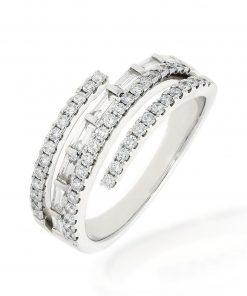 Modern Round Diamond RingStyle #: PD-JQ21411L