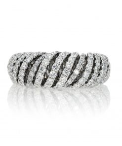 Modern Round Diamond RingStyle #: PD-LQ10913L