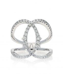 Modern Round Diamond RingStyle #: PD-LQ17640L