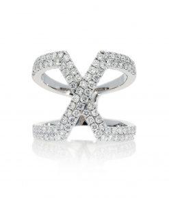 Modern Round Diamond RingStyle #: PD-LQ17934L