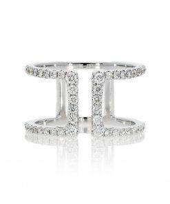Modern Round Diamond RingStyle #: PD-LQ19117L