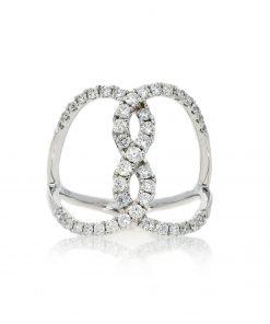 Modern Round Diamond RingStyle #: PD-LQ20249L
