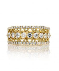 Modern Round Diamond RingStyle #: PD-LQ20619L