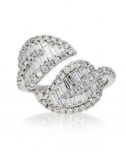 Modern Round Diamond RingStyle #: PD-LQ21201L