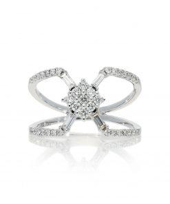 Modern Round Diamond RingStyle #: PD-LQ21294L