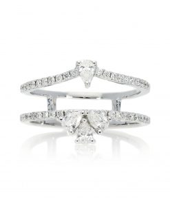 Modern Round Diamond RingStyle #: PD-LQ21297L