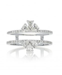 Modern Round Diamond RingStyle #: PD-LQ21298L