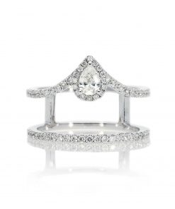 Modern Round Diamond RingStyle #: PD-LQ21418L