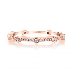 Modern, Stackable Diamond RingStyle #: MARS-27265