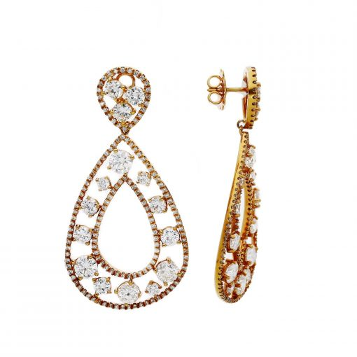 Diamond EarringsStyle #: JW-EAR-RB-007