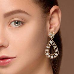 Diamond EarringsStyle #: JW-EAR-RB-007