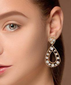 Drop Diamond EarringsStyle #: JW-EAR-RB-007