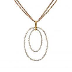 Diamond NecklaceStyle #: LQ2297N