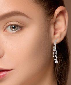 Drop Diamond EarringsStyle #: ANC-AA1222