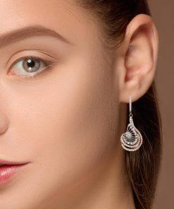 Drop Diamond EarringsStyle #: ANC-AN2467B-