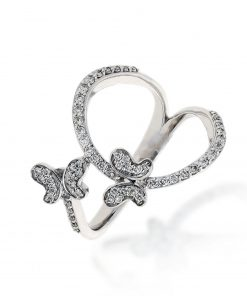 Modern Round Diamond RingStyle #: BN705