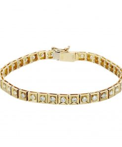 Contemporary Diamond BraceletStyle #: JW-BRAC-RB-020