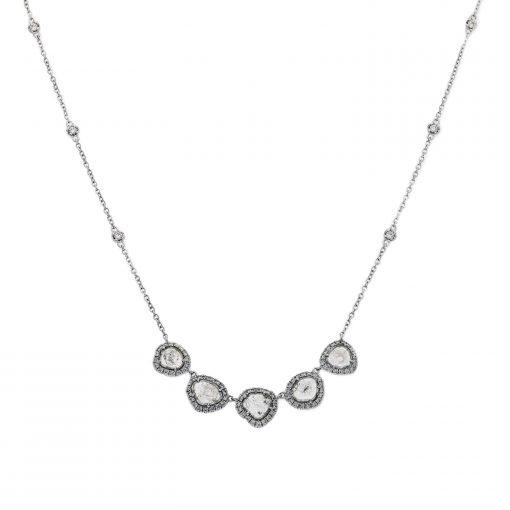 Diamond Slice NecklaceStyle #: PD-JLQ251N