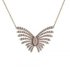 Diamond NecklaceStyle #: PD-LQ3552N