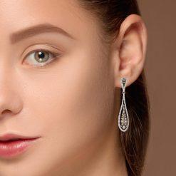 Diamond EarringsStyle #: PD-LQ8356E