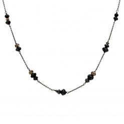 Black Diamond NecklaceStyle #: PD-LQ1947N