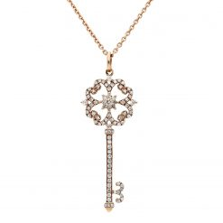 Diamond NecklaceStyle #: ANC-HKK547