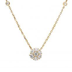Diamond NecklaceStyle #: PD-LQ2310N