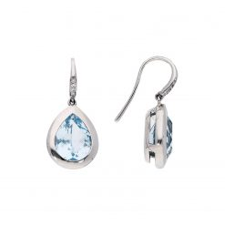 Blue Topaz EarringsStyle #: MH-EAR-419-03