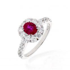 Ruby RingStyle #: PD-LQ18222L